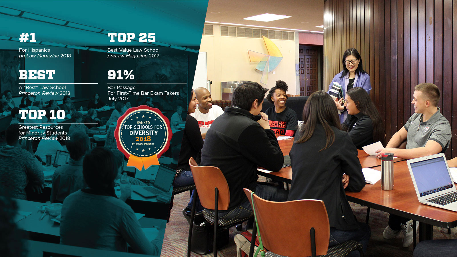 UNM Law's Incoming Class is Filling Up! Why UNM Law? Check out these six top-notch rankings.