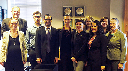 UNM Law Community Lawyering Clinic with Chief of Staff Keith Gardner and Deputy General Counsel Matthew
