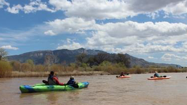 Indian Water Law students take a trip down the Rio Grande to see riverbank restoration first-hand.