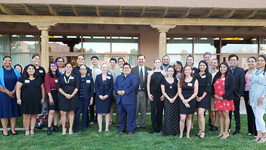 Law and Indigenous Peoples Program Dinner Welcomes Native American First-Year Law Students