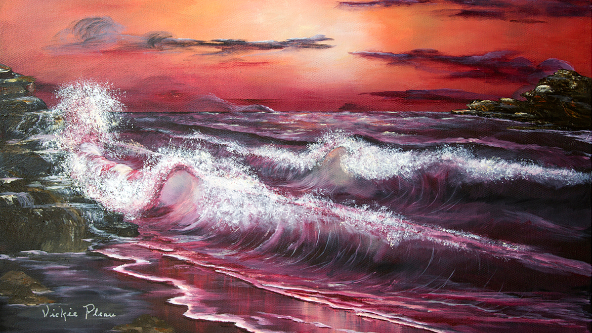 Calypso - The Dance fo the Sea by Vickie Pleau