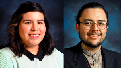 Cristina Vasquez and Simon Suzuki, Courtesy UNM Law Media Center