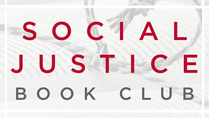 Graphic of Social Justice Book Club