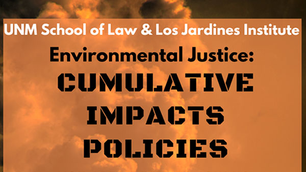 Thumbnail for the Los Jardines and UNM School of Law event scheduled for April 7, 2021.